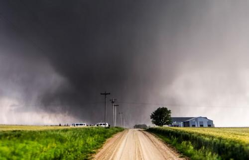 Road to Chapman Tornado