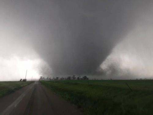 Chapman, Kansas Wedge Tornado