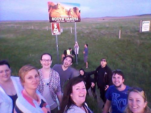 Tour Guests in South Dakota