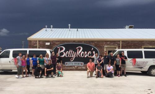 Betty Rose Restaurant and Guests