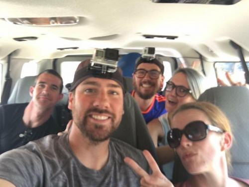 Guests in Van on Tour 5