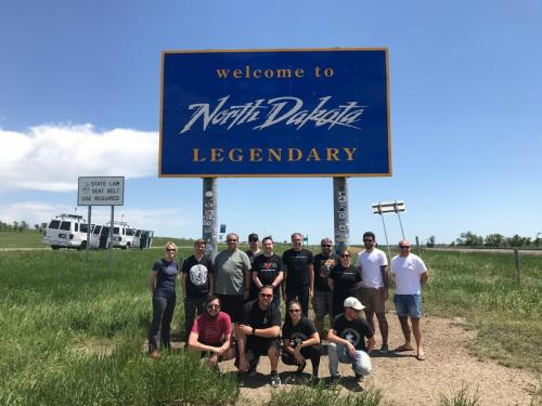 Tour 6 Group Photo - North Dakota