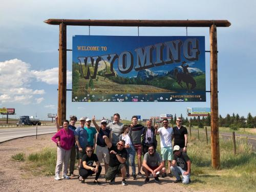 Tour 7 2018 Group Photo - Wyoming