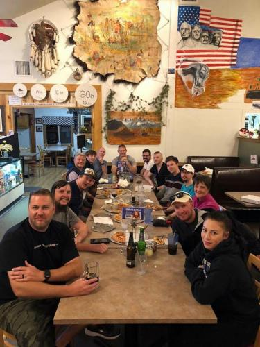 Tour 7 2018 Group Dinner